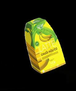 hộp bột chuối sữa latte