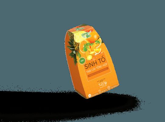 hộp 6 gói sinh tố trái cây tổng hợp