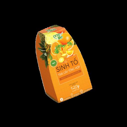 hộp 6 gói bột trái cây