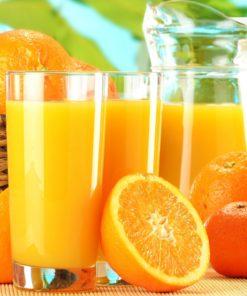 nước ép bột cam