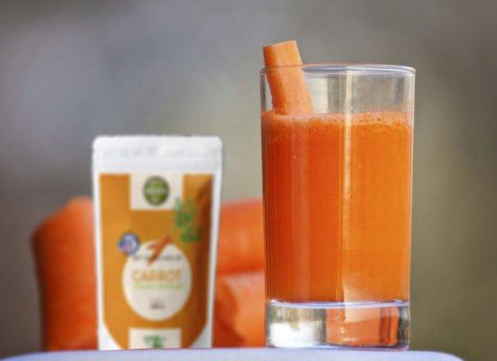 Bột cà rốt hữu cơ (organic)