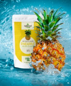 pineapple powder with fresh pineapple