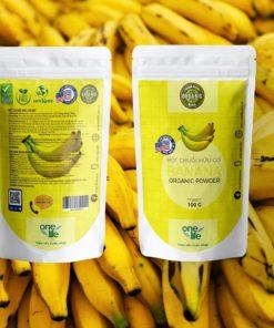 bột chuối banana