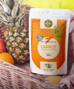 túi bột cà rốt