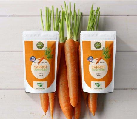 bột cà rốt nguyên chất