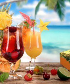 ly nước trái cây tổng hợp