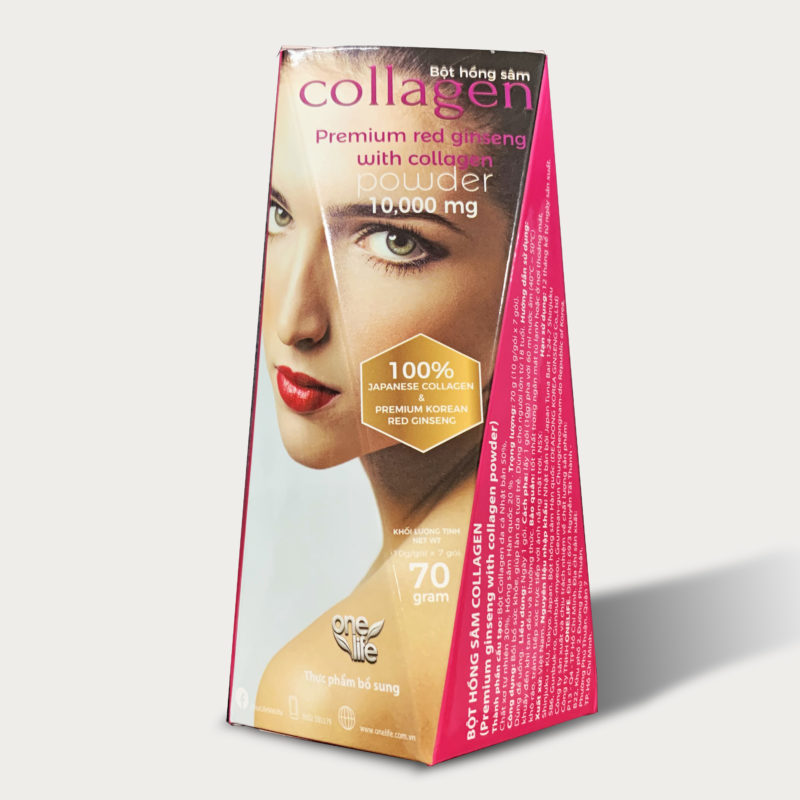 Collagen hồng sâm