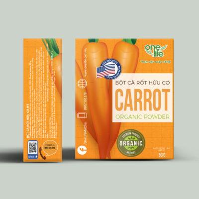 Hộp bột cà rốt 50g