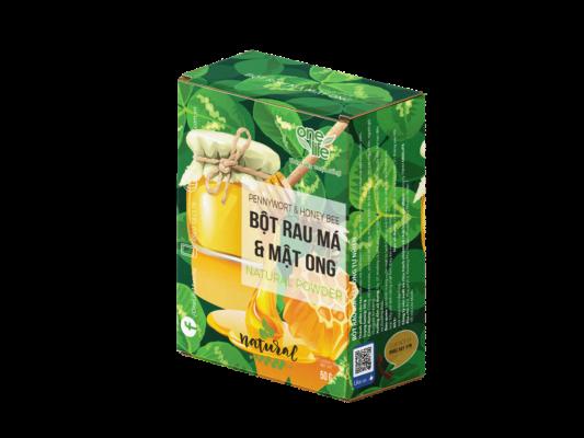 hộp rau má mật ong