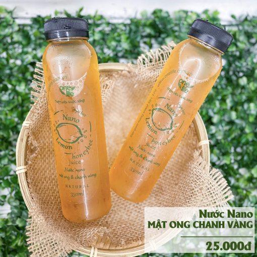 nước mật ong chanh 25000đ