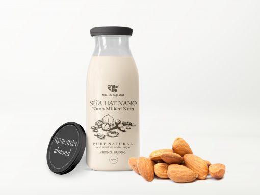 sữa nano hạnh nhân