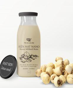 sữa nano hạt sen