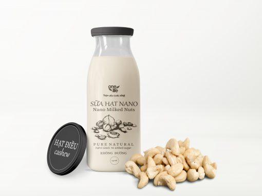 sữa nano hạt điều