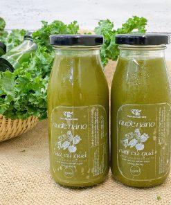 nước rau má mật ong hạt chia