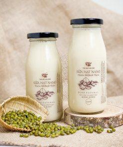 sữa hạt đậu xanh rang nano