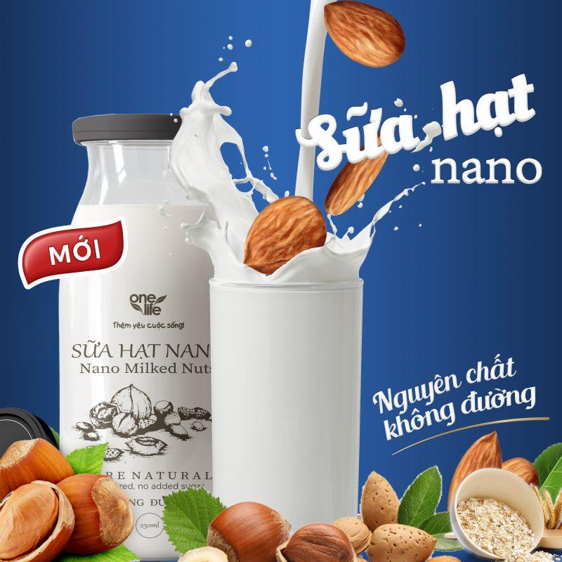Sữa hạt nano