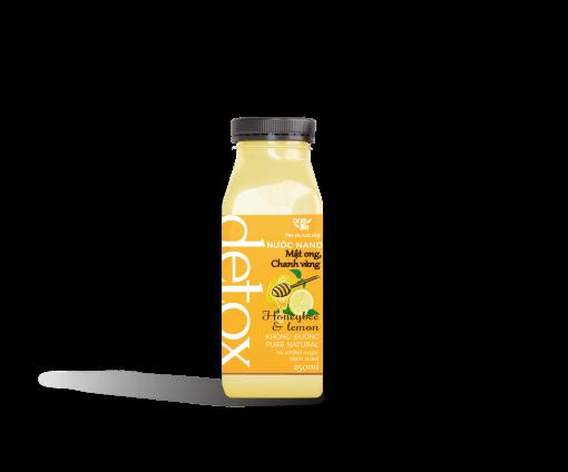 mật ong chanh vàng chai nhựa
