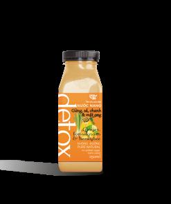 Nước gừng sả chanh mật ong chai nhựa