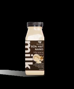 sữa hạt yến mạch chai nhựa